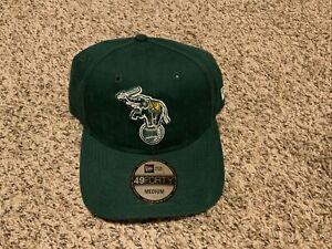 Oakland Athletics 49forty New Era Hat Core Fit Men's Size: Medium Green