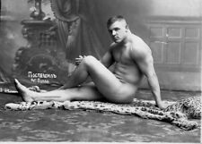 Beautiful Nude russian man vintage photo a6 10x15cm #15 gay int