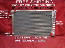 Corvette Radiator Aluminum 350 Motor Automatic Best Cooling 1969 1970 1971 1972