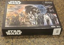 Star Wars Buffalo 2000 Piece Puzzle Rogue One Rebellions Are Built On Hope Vader