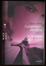 Livre Harlequin..COLLECTION BLACK ROSE..n° 10...2 Romans