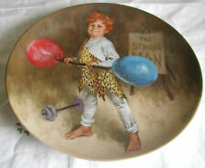 """""""Johnny The Strong Man"""" Plate By John McClelland"""