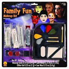 NEW Family Fun Makeup Kit Rubie's 19302 Scar Wax Fake Blood Glitter Makeup Tray