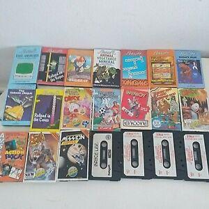 Amstrad CPC 464/664/6128 Game Bundle 22 x Cassette Games No Box inc Code Masters