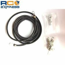 Hot Racing 1/10 Scale Black Bungee Cord Kit ACC468K01