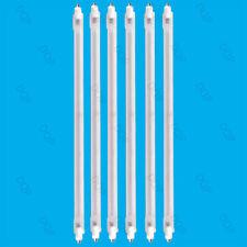 6x 400W Halogen Heater Replacement Tubes 242mm Fire Bar heater Lamp Element Bulb