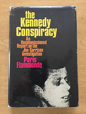 The Kennedy Conspiracy Jim Garrison Investigation Paris Flammonde 1st Ed HC/DJ