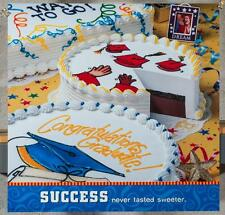 Dairy Queen Promotional Poster For Backlit Menu Sign Graduation Cakes dq2