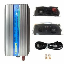 1000W MPPT Solar Grid Tie Inverter For 18V/36V Panel 10.8V~45V To 110/230V