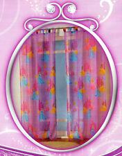 Disney Princess 2er Pack Vorhangschals - 140 x  250 cm - Schlaufenschal, Vorhang