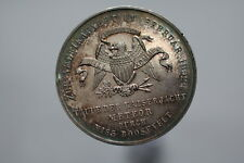 USA COLONIAL VERY RARE MEDAL PRUSSIA WELCOME MS. ROOSEVELT A79 #Z8476