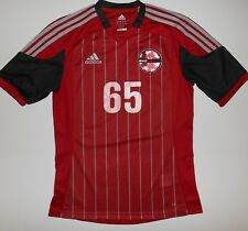 Adidas Climalite NEO United Red Short Sleeve Jersey #65 Men's Size Small