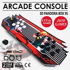 Pandora Box 9S 2650 Games in 1 Home Arcade Console 2515 2D & 135 3D Retro Video