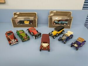 """8 x Models of Yesteryear . """"Matchbox & Solido""""   Die Cast Models"""
