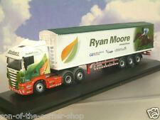 Buen Estado Oxford 1/76 Scania Jockey Camión/Remolque Eddie Stobart Ryan Moore