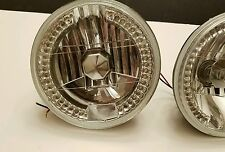 vintage car glass h4 headlights ford mustang fastback pinto Mopar dodge Plymouth