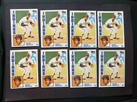 (8) 1984 Topps #48 Julio Franco RC Indians NM++ (lot of 8)