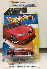 '10 BMW M3 #26 * RED * Premiere 2011 Hot Wheels * H28