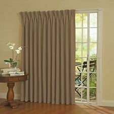 NEW Eclipse Thermal Blackout Patio Door Curtain Panel 100 Inch x 84 Inch Wheat