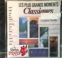 LES PLUS GRANDS MOMENTS CLASSIQUES Mozart Beethoven Chopin [ CD ALBUM NEUF ]