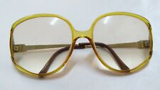 vtg 80s Oversized Womens frames CD 2394 Sunglasses huge bug Eye frame glasses