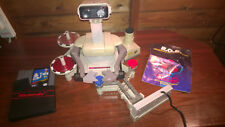 Nintendo NES-R.O.B. Rob Robotic Operating Buddy & Game #R