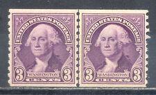 US Stamp (L195) Scott# 721, Mint HR OG, Nice Vintage Coil Line Pair