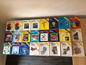 Lot of 24 NEW Workbooks - 4th, 5th, & 6th Grade - Homeschool Set