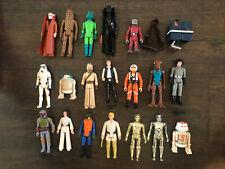 Kenner Star Wars Lot of First 21 Figures Luke Leia Han R2-D2 Fett vintage loose
