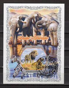 IVORY COAST -  ELEPHANTS, LIONS   2018   M2787C
