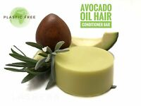 AVOCADO SOLID HAIR CONDITIONER BAR- RESTORE-PROTECT-ADD VOLUME- SHINE-DEFINE .