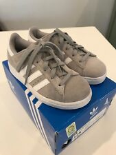 NEW 12 Adidas Kids Campus 2 C Rare Gray Sneakers Shoes Crewcuts $50 Boy Girl