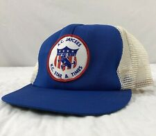 823f9e894f2a9 Vtg Kansas City Star Soap Box Derby Hat Snapback Trucker Cap USA Patch  Jaycees