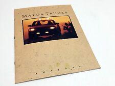 1991 Mazda B2200 B2600 Pickup Trucks Brochure