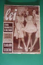LEI 3/1958 MARIA CALLAS SOFIA LOREN FRANCOISE SAGAN JEAN SEBERG OTTO PREMINGER