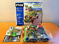 K 'nex revvin' de coche de carreras Motorizados Edificio de 2 en 1 Juego Completo, Sellado