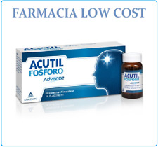 ACUTIL FOSFORO ADVANCE INTEGRATORE ALIMENTARE 10 FLACONCINI DA 10 ML