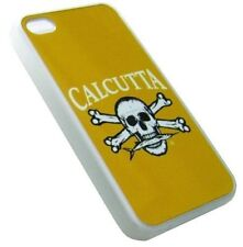Calcutta Phone Case Yellow iPhone 4/4S Skull & Crossbones Sleeve, Cover, Shell