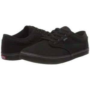 Vans Shoes Atwood Low Canvas Black Black US SIZE Skateboard Sneakers