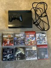 Sony PlayStation 3 Launch Edition 250GB Console Complete w/controller And Games!