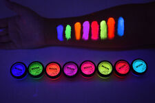 Moon Glow Intense UV Blacklight Reactive Neon Pigment Shakers