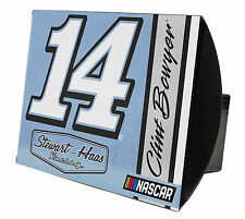 NASCAR #14 Clint Bowyer Metal Trailer Hitch Cover-NASCAR Trailer Hitch Cover