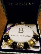 NIB Deluxe Bella Perlina Crystal Bead Charm Bracelet MSRP $125.00 *On Sale*