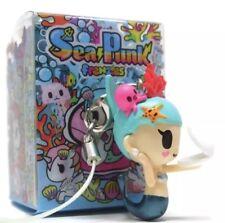 Tokidoki Seapunk FRENZIES Corallina Zipper Pull Keychain Vinyl Figure Sea Punk