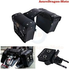 Motorcycle Saddlebags Saddle Bags Pouch For Honda For Harley For Kawasaki