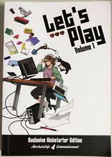 Let's Play Volume 1 Leeanne M. Krecic Exclusive Kickstarter Edition!