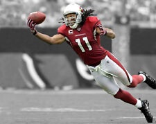 Arizona Cardinals LARRY FITZGERALD Glossy 8x10 Photo Print NFL Spotlight Poster