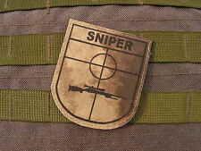 SNAKE PATCH - BLASON SNIPER ATAC - Cible Tir Lunette Airsoft SCOUT US atacs