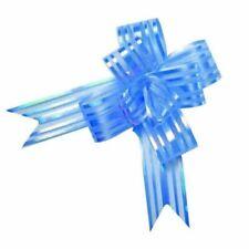 Fiocchi e nastri blu per confezionamento regali