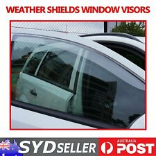 Clear Sun Window Rain Weather Shields Car Window Visors For Hiace 2005 -ON Van